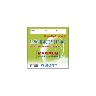 World Vision CR-39 1.56 HMC+EMI+UV400+EP SUPER HYDROPHOBIC (Korea