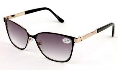 Готовые женские диоптрийные очки Verse 1747S-C2 Тонированные