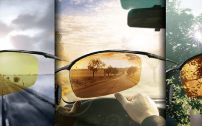 Линзы TRANSITIONS DRIVEWEAR-инновационные солнцезащитные поляризационные линзы для водителей (JZO Польша)