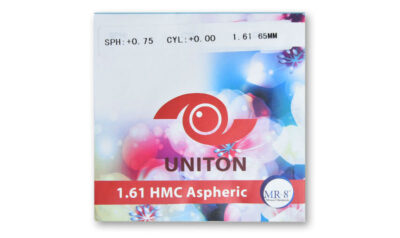Линза полимерная асферическая UNITON HMC инд.1,61
