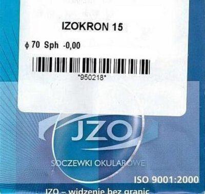 Минеральная линза JZOKRON 15 с покрытием Blue Blocker для водителей-антифара (Польша)