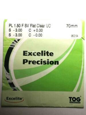 Полимерная линза EXCELITE 1.5 Precision с меньшей базовой кривой+ Астигматика(под тонировку)