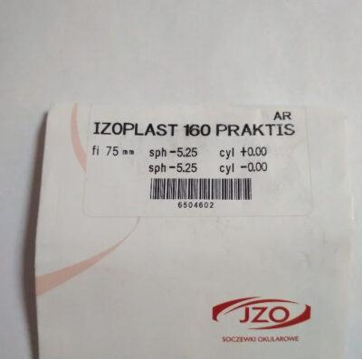 Полимерная утонченная линза Izoplast 160 Practis AR (IZO Польша)+Астигматика