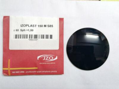 Тонированная полимерная линза Izoplast M150 AR 85%