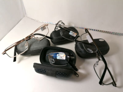 Готовые складные очки Vizzini 666 в футляре