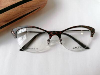 Женская полуободковая оправа Dacchi D35922-C2