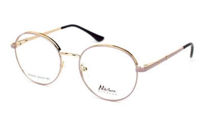 Женская металлическая круглая оправа Nikitana NK8426-C7