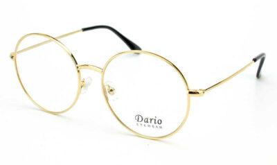Круглая крупная женская оправа Dario 310243-LZ01-LZ01