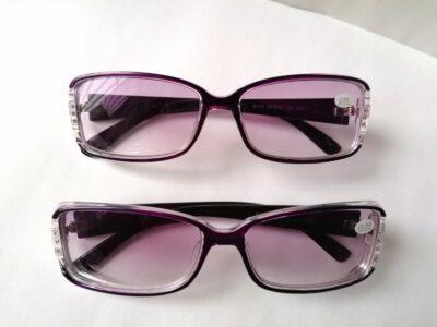 Готовые женские диоптрийные очки для зрения EAE B035-C50