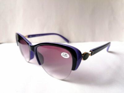 Женские полуободковые тонированные очки ЕАЕ 2138 с611
