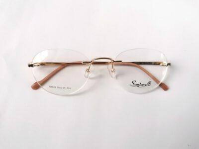 Женская модная безободковая оправа Santarelli N5042-C1