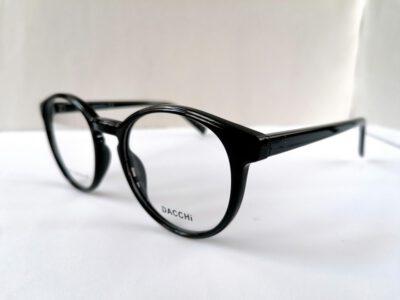 Пластиковая универсальная оправа Dacchi D37234-C4 в черном глянце