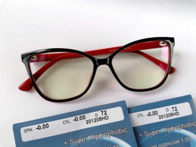 компьютерные женские очки в оправе X5140-C4 с линзами Blue Blocker