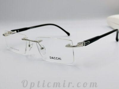 Мужская безободковая оправа Dacchi D33362-C3