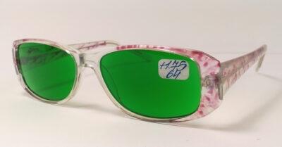 Женские противоглаукомные диоптрийные очки +1,75 с межцентровым расстоянием 64мм