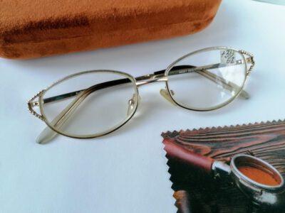 диоптрийные женские очки +3,0 с центровкой 58мм