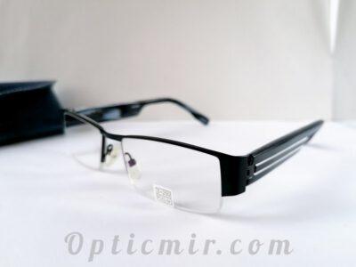 Мужские готовые полуободковые очки +2,50 или под оправу
