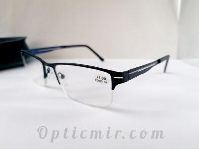 Готовые очки для зрения +2,00 с межцентровым расстоянием 62-64мм