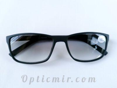 Готовые тонированные очки Verse 19136S-C1 с диоптрией +2,50.