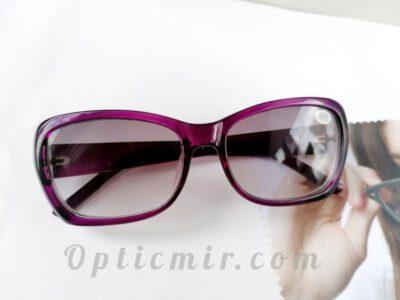 Тонированные женские очки -2,50 с межцентровым расстоянием 62-64мм