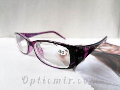 Женские пластиковые очки Verse 1727S-C1 с диоптрией -8,00